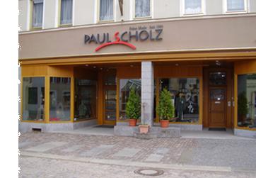 Modehaus Paul Scholz Feine Mode seit 1905 Olbernhau Stammhaus